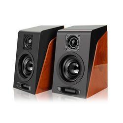 Loa vi tính 2.0 giả gỗ S950 – âm thanh hifi, công suất 6W giá sỉ