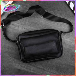 Túi đeo chéo da nắp kéo đôi cao cấp thời trang SKX202 Shalla giá sỉ