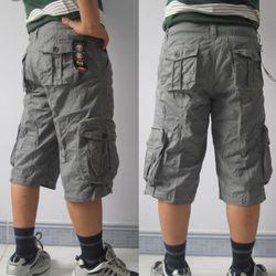 Quần short kaki túi hộp nam thường (si và lẻ) giá sỉ