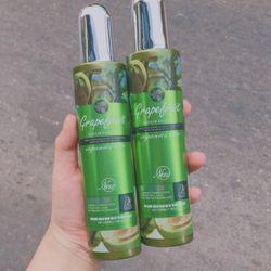 Xịt dưỡng tóc tinh dầu bưởi organic grapes fruit giá sỉ