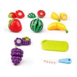 Bộ Đồ chơi cắt trái cây bằng nhựa cho bé giá sỉ