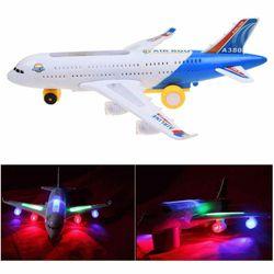 Đồ chơi máy bay chạy pin có nhạc và đèn giá sỉ