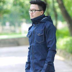 Áo chống nắng nam vải bò giá sỉ