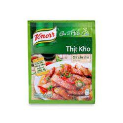 Giá 1 Thùng Knorr Gia Vị Thịt Kho giá sỉ