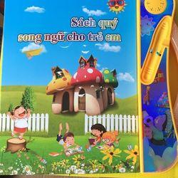 Sách học song ngữ cho trẻ em