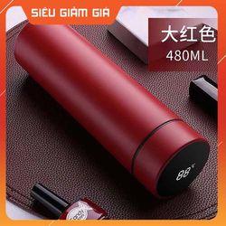 Bình giữ nhiệt inox 304- thép không rỉ- nắp có hiển thị nhiệt độ-hàng chính hảng 0905 giá sỉ