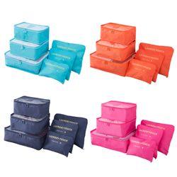 Bộ 6 Túi đựng đồ du lịch laundry Pouch - tigfhduiu895 giá sỉ