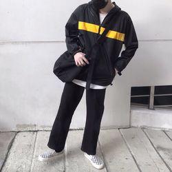 Áo khoác dù nam nữ in chữ DARGON