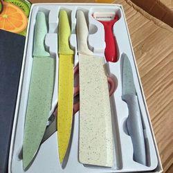 Bộ dao 6 món mẫu mới giá sỉ