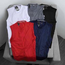 Quần áo thể thao - Das ba lỗ thun poly xịn - co giãn 4 chiều giá sỉ
