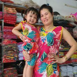 Set bộ mặc nhà mẹ và bé siêu xinh giá sỉ
