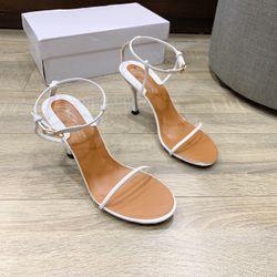 Giay sandal cao gót nhọn giá sỉ