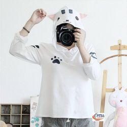 Áo hoodie nữ mỏng hình con mèo giá sỉ, giá bán buôn giá sỉ
