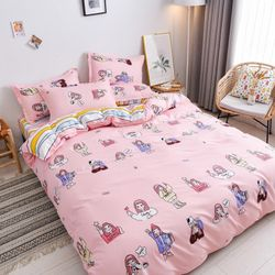 Bộ Chăn Ga Gối Cotton Korea NS503 giá sỉ