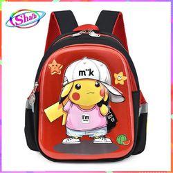 Balo cho bé đi học thời trang Hình Pikechu siêu đẹp M21 Shalla HNS5 giá sỉ