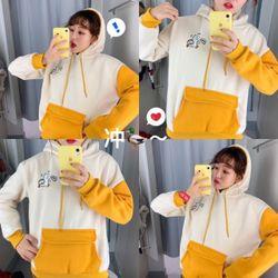 Áo hoodie in con vit siêu kute giá sỉ