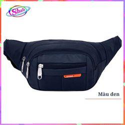 Túi đeo hông màu bóng thời trang cao cấp Shalla LX51 giá sỉ