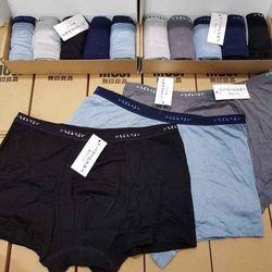 Sét quần lót nam mu ji 6 cái giá sỉ
