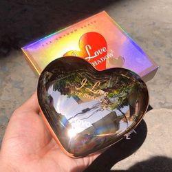 Phấn mắt 12 ô nhũ hộp hình trái tim vàng Novo giá sỉ
