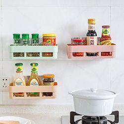 Kệ nhựa dán tường nhà bếp, nhà tắm chữ nhật giá sỉ