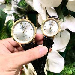 Đồng hồ đôi dây da giá sỉ