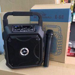 Loa bluetooth k68 tặng kèm mic giá sỉ
