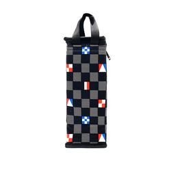Túi giữ nhiệt bình nước caro lá cờ màu đen giá sỉ