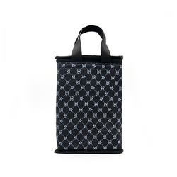 Túi giữ nhiệt kiểu đứng hoạ tiết GC đen giá sỉ