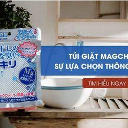 Túi Giặt Magchan Sentaku Nhật Bản 50gr Magie - Magchan Terrawash Khử Mùi Cực Đỉnh, Bảo Vệ Môi Trường, An Toàn Cho Da Bé giá sỉ