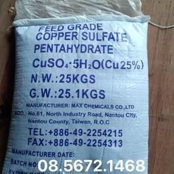 Đồng sulphate CuSO4 diệt tảo, ốc trong ao nuôi giá sỉ