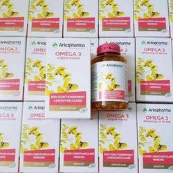 Viên uống dầu cá Omega 3 Arkopharma 180 viên Pháp - Dầu cá an toàn cho cả bà bầu, trẻ em trên 6 tuổi giá sỉ
