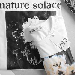 Áo thun in hoa siêu đẹp LD1095 giá sỉ