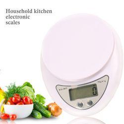 Cân Tiểu Ly Điện Tử 5kg Để Bàn Nhà Bếp Màn Hình LCD giá sỉ
