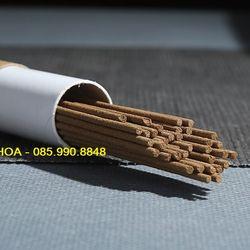 Nhang trầm hương không tăm, nhang sạch nguyên chất đựng trong hộp kín giá sỉ