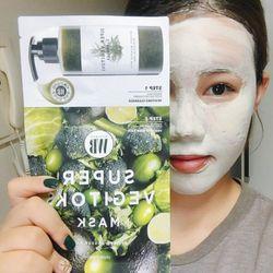 Mặt nạ thải độc rau củ giá sỉ