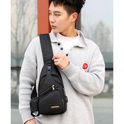Túi đeo chéo nam thời trang, tích hợp sạc điện thoại giá sỉ