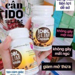 Viên uống giảm cân Idol Slim Capsule hỗ trợ giảm cân mạnh giá sỉ
