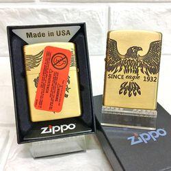 Bật Lửa ZIPPO Mỹ, Bật Lửa ZIPPO USA - Đồng Khắc 5 Mặt Hình Đại Bàng 1932 Xài Xăng Có Tem Đỏ giá sỉ