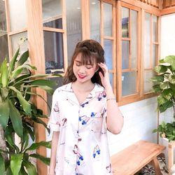 Đồ ngủ đồ pijama tNqd nữ chất Lụa QC siêu đẹp giá sỉ