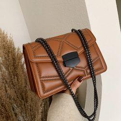 Túi đeo chéo trần trám nạm đinh cao cấp phong cách Hàn Quốc D789 giá sỉ