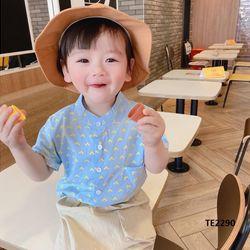 Bộ sơ mi cổ tàu+ quần thô túi trước phong cách Hàn Quốc giá sỉ