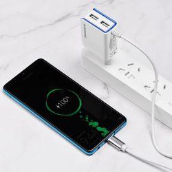 Bộ Cóc Cáp Sạc BA35A Borofone - 2 Cổng USB - Cổng Micro USB chuẩn EU