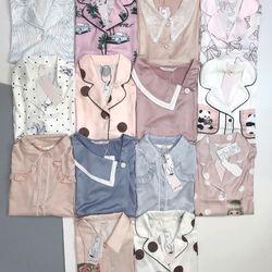 Đồ ngủ đồ mặc nhà tdqd Chất lụa in 3D hàng QC siêu mịn giá sỉ