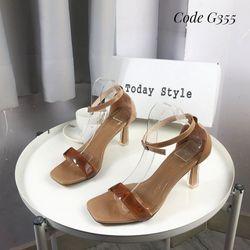 Sandal gót 7f hàng chuẩn cực đẹp ,sang ,chảnh sỉ 86k giá sỉ