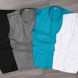 Quần áo thể thao - áo thun ba lỗ cao cấp thể thao vải poly chiều 100%- giá xưởng giá sỉ