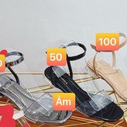 Sandal gót 3f sỉ 72k giá sỉ