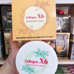 Kem dưỡng body collagen x6 giá sỉ