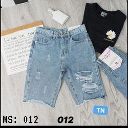 Quần lửng jeans nữ