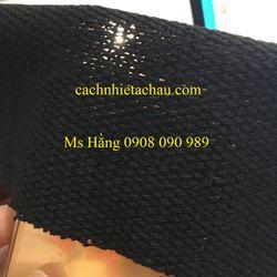 Vải Carbon cách nhiệt, che chắn tia lửa hàn, chịu nhiệt 700 độ C giá sỉ
