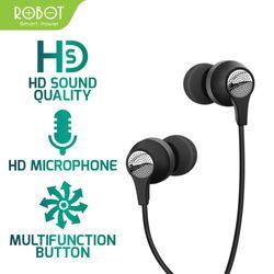 Tai nghe nhét tai có dây Robot RE101 giá sỉ